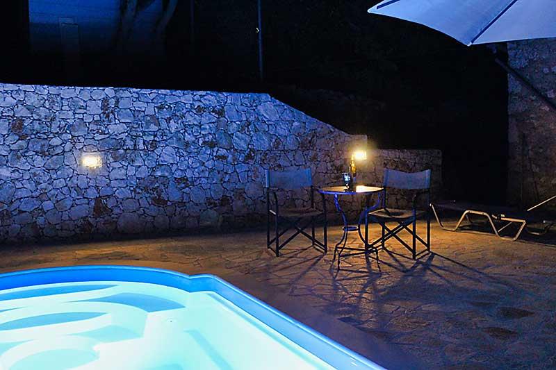 Swimming Pool at Night